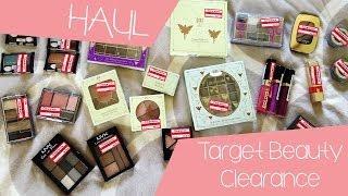 HUGE HAUL   Target Clearance Makeup Haul