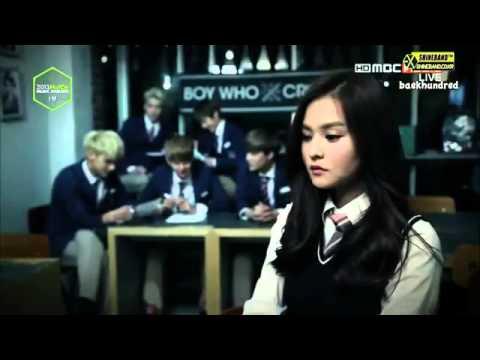 131114 EXO MelOn Awards - Drama Cut {ENG SUB}.mp4