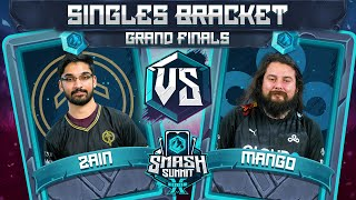 Zain vs Mang0 - GRAND FINALS: Singles Bracket  - Smash Summit 10 | Marth vs Falco