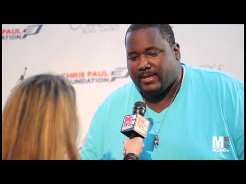 Quinton Aaron Talks with Muhotv - YouTube