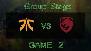 [Kuala Lumpur Major] Tigers vs Fnatic - Game 2
