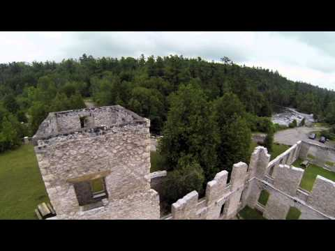 The Mill Ruins - Rockwood, Ontario