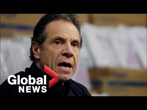 Coronavirus outbreak: New York confirms 6,400 new COVID-19 cases | FULL