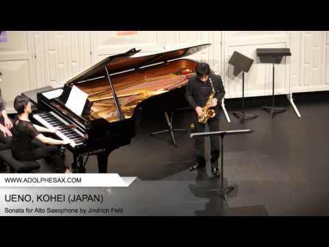 Dinant 2014 - UENO Kohei (Sonate pour Saxophone Alto by Jindrich Feld)
