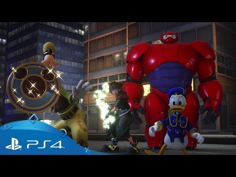 Kingdom Hearts III | Big Hero 6 Trailer | PS4