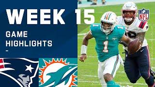 Patriots vs. Dolphins Week 15 Highlights | NFL 2020