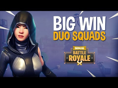 Big Win!! Duo Squads - Fortnite Battle Royale Gameplay - Ninja & Symfuhny