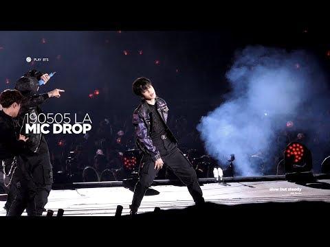190505 방탄소년단 지민 (BTS JIMIN) - MIC DROP (JIMIN FOCUS 4K fancam)