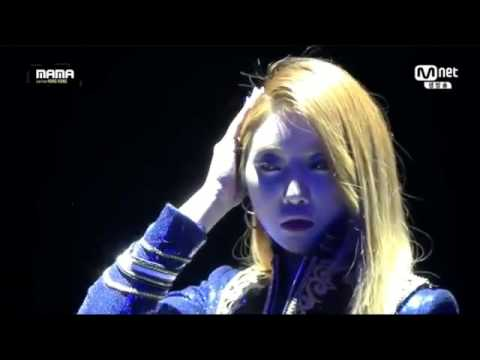 CL & 2NE1 Performance from 2015 MAMA