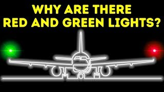 Why Lights at Plane Wings Are Different