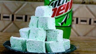 Mountain Dew Marshmallows | DIY Marshmallows by FunFoods