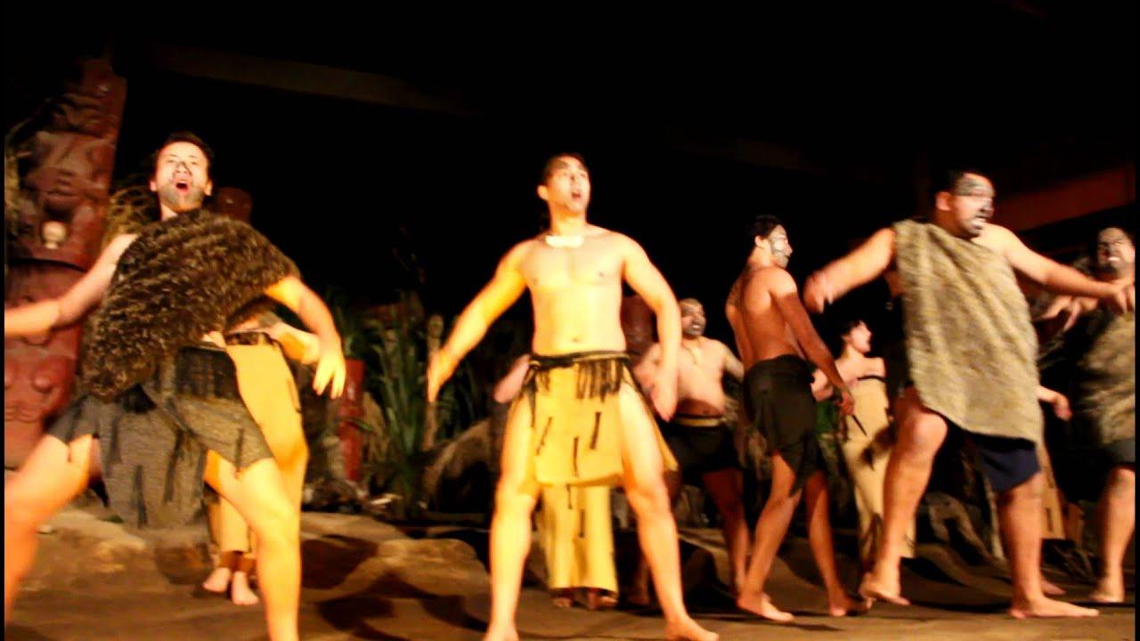 Maori Dance: Maori War Dance