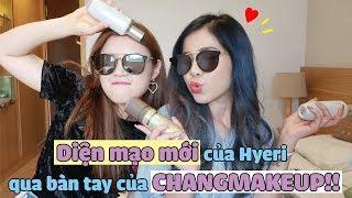 Diện mạo mới của Hyeri qua bàn tay của CHANGMAKEUP!!!