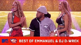 Best Of Emmanuel Hudson vs. DJ D-Wrek 😂 What Started The Beef? | Wild 'N Out