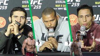 UFC 259 Fighters Predict Israel Adesanya vs. Jan Blachowicz