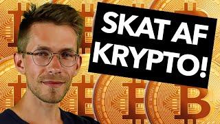 Så meget betaler du i skat af din kryptovaluta (Bitcoin skat Danmark 2021)