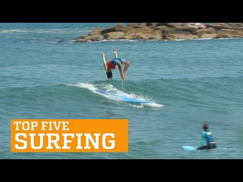 PEOPLE ARE AWESOME: TOP FIVE – SURFING