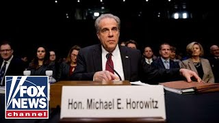 Tom Fitton says Horowitz report reveals Trump was a crime victim