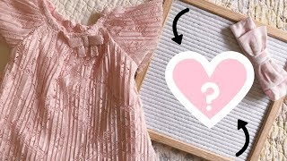 BABY GIRL NAME REVEAL! | EM AT HOME