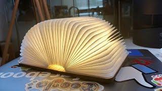 "Gadget Review: Wooden LED Luminous ""Book"" Lamp (+GIVEAWAY)"