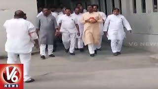 Ashes of Atal Bihari Vajpayee reach Telangana..