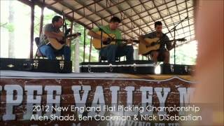 2012 Ossipee Music Festival's New England Flatpick Champion-Ben Cockman