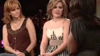 Kelly Clarkson and Reba McEntire — Because of You — Oprah