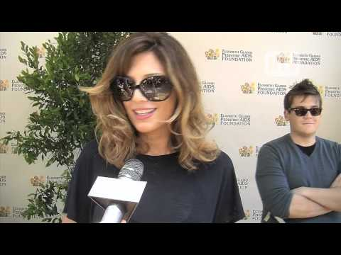Daisy Fuentes Walks The Red Carpet At The Pediatric AIDS ...