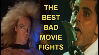 AWESOMELY BAD Movie Fights!