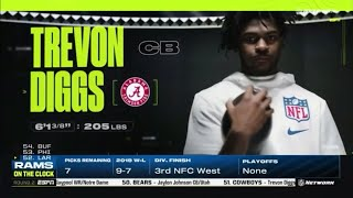 Cowboys Draft Trevon Diggs With The 51st Pick | 2020 NFL Draft