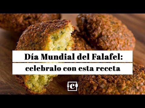 Celebra el Día Internacional del Falafel con esta receta