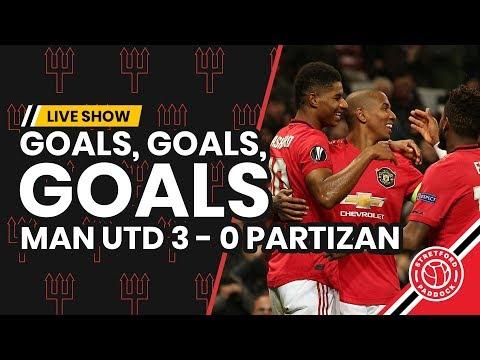 Goals Goals Goals   Manchester United 3-0 Partizan Belgrade   Match Review