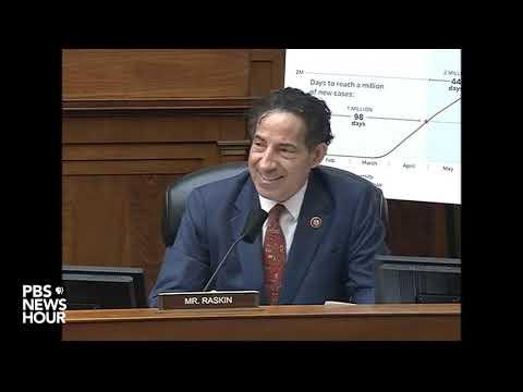 Watch Rep. Raskin question Fauci, Redfield and Giroir in House hearing on coronavirus