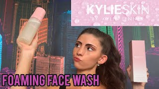 Reviewing the Kylie Skin Foaming Face Wash | Alyssa Casa