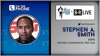 ESPN's Stephen A. Smith Talks Kawhi, Lakers, Westbrook & More w/Rich Eisen | Full Interview
