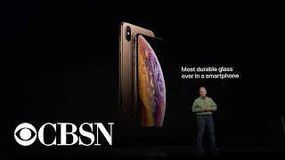 Apple unveils new iPhone XS, XS Max, and XR