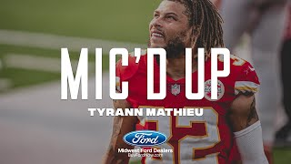 "Tyrann Mathieu Mic'd Up: ""Time to put it on the line"" 