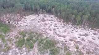 Нелегальний видобуток бурштину в Житомирській області