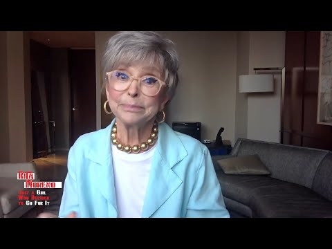 Rita Moreno Sings West Side Story, Admits Racism in Hollywood Put Her in Therapy