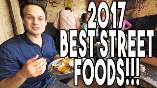 BEST STREET FOODS OF 2017 - MY YEAR END REVIEW - CHINESE, INDIAN, INDONESIAN + MORE!!!