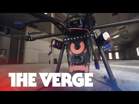 This drone can taze you | SXSW 2014