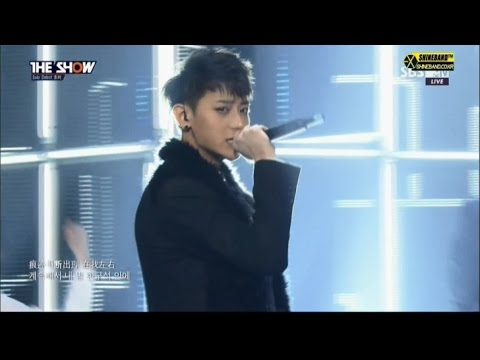 141104 더 쇼 Rewind 조미 (feat. TAO of EXO)