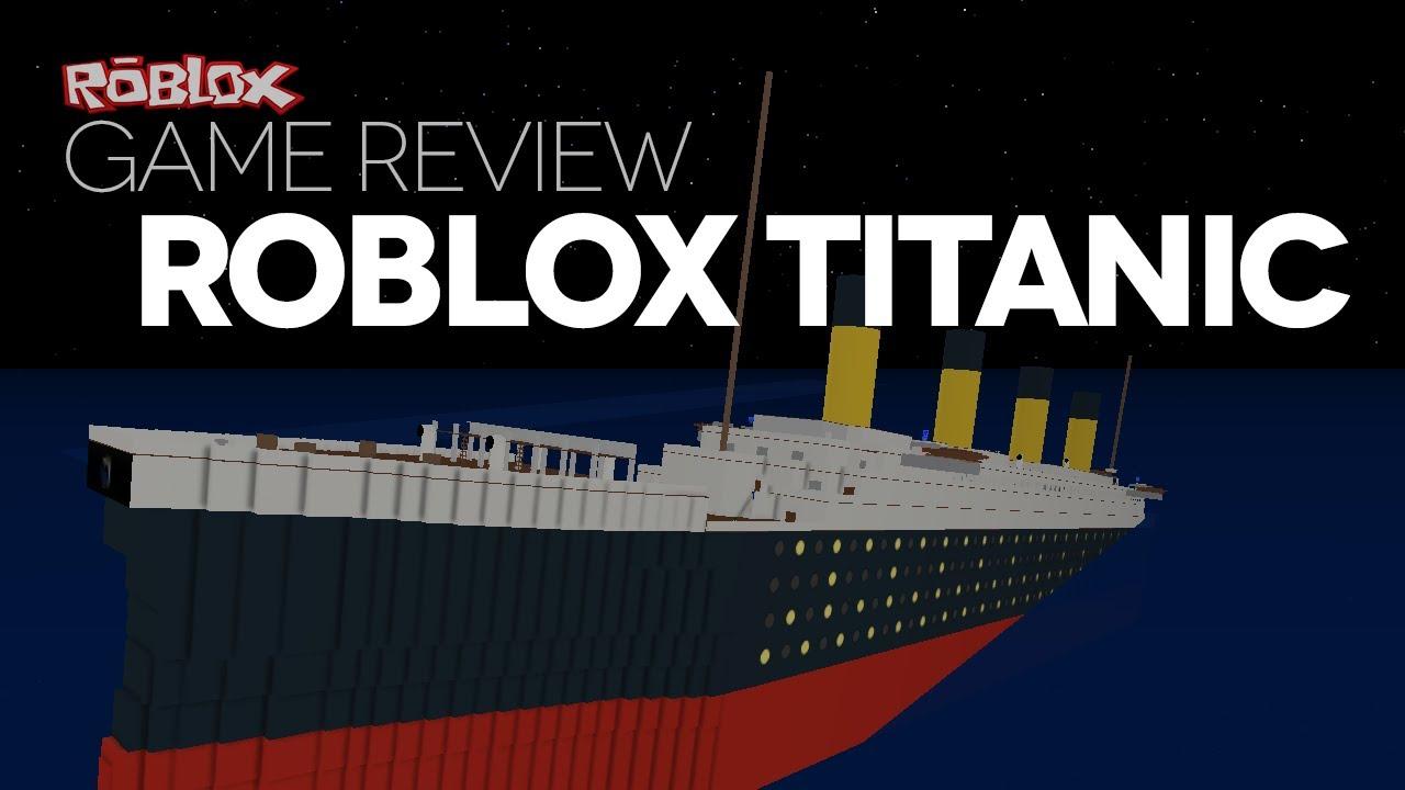 titanic games on roblox