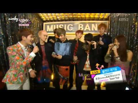 130301 Teen Top Backstage MC Onew SHINee Bora Sistar