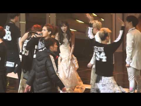 140116 EXO & Taeyeon [HanTae-Baekyeon-KyungTae-----] 28th Golden Disk Awards