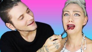 Boyfriend Does My Makeup | Nicole Skyes