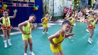 Thể dục nhịp điệu mừng ngày nhà giáo Việt Nam 20/11/2013