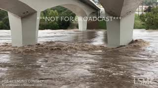 10-16-18 Marble Falls, TX Completely Flooded