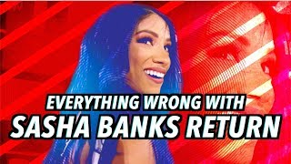 Episode #458: Everything Wrong With WWE Raw: SASHA BANKS RETURNS (2019)