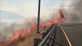 10 09 2017 Canyon Fire 2 Anaheim Hills CA